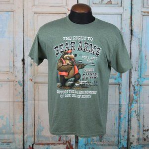 The Right To Bear(yes) Arms 2nd Amendment T-shirt